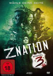 Z Nation Season 3, 4 DVDs
