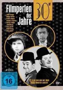 Filmperlen der 30er Jahre (12 Filme auf 4 DVDs), 4 DVDs