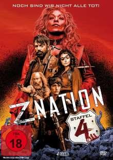 Z Nation Season 4, 4 DVDs