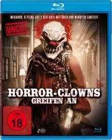 Horror-Clowns greifen an (6 Filme auf  6 Blu-rays), 2 Blu-ray Discs