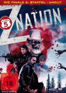 Z Nation Season 5 (finale Staffel), 4 DVDs