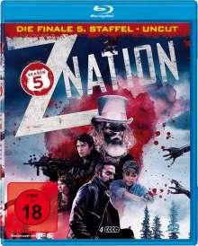 Z Nation Season 5 (finale Staffel) (Blu-ray), 4 Blu-ray Discs