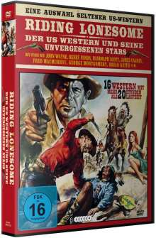 Riding Lonesome - Western Deluxe-Box (16 Filme auf 6 DVDs), 6 DVDs