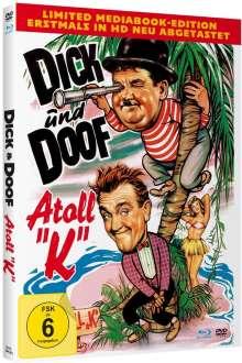 Dick und Doof: Atoll K (Blu-ray & DVD im Mediabook), 2 Blu-ray Discs
