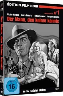 Der Mann, den keiner kannte (Mediabook), DVD