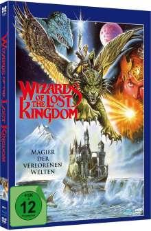 Wizards of the Lost Kingdom (Blu-ray & DVD im Mediabook), 1 Blu-ray Disc und 1 DVD