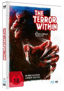 The Terror Within (Blu-ray & DVD im Mediabook), 1 Blu-ray Disc und 1 DVD