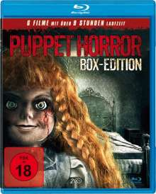 Puppet Horror Box-Edition (6 Filme auf 2 Blu-rays), 2 Blu-ray Discs
