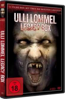Ulli Lommel - Legacy Box Edition (11 Filme auf 4 DVDs), 4 DVDs