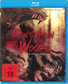 Don't go in the Woods (Blu-ray), Blu-ray Disc