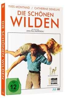 Die schönen Wilden (Blu-ray & DVD im Mediabook), 1 Blu-ray Disc und 1 DVD