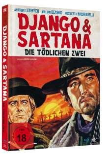 Django & Sartana - Die tödlichen Zwei (Blu-ray & DVD im Mediabook), 1 Blu-ray Disc und 1 DVD