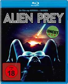 Alien Prey (Blu-ray), Blu-ray Disc