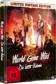 World Gone Wild (Blu-ray & DVD im Mediabook), 1 Blu-ray Disc und 1 DVD