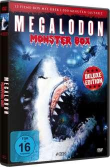 Megalodon Monster Box (12 Filme auf 4 DVDs), 4 DVDs