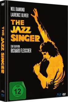 The Jazz Singer (1980) (Blu-ray & DVD im Mediabook), 1 Blu-ray Disc und 1 DVD