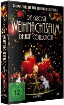 Die grosse Weihnachtsfilm Deluxe-Collection (24 Filme auf 8 DVDs), 8 DVDs