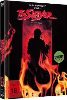 The Slayer (Blu-ray & DVD im Mediabook), 1 Blu-ray Disc und 1 DVD