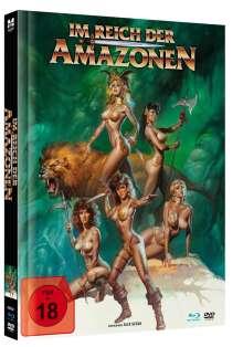 Im Reich der Amazonen (Blu-ray & DVD im Mediabook), 1 Blu-ray Disc und 1 DVD
