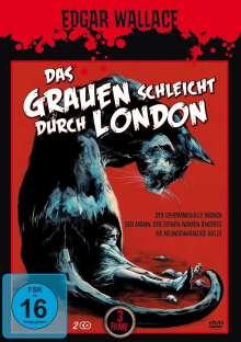 Das Grauen schleicht durch London (3 Filme auf 2 DVDs), 2 DVDs