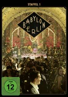 Babylon Berlin Staffel 1, 2 DVDs