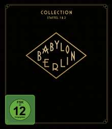 Babylon Berlin Collection Staffel 1 & 2 (Blu-ray), 4 Blu-ray Discs