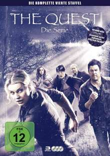 The Quest Staffel 4, 3 DVDs