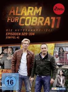 Alarm für Cobra 11 Staffel 41, 2 DVDs
