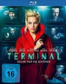 Terminal (2018) (Blu-ray), Blu-ray Disc