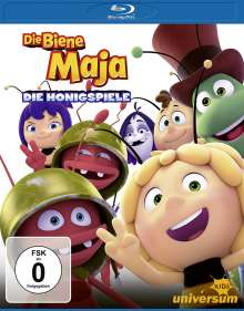 Die Biene Maja - Die Honigspiele (Blu-ray), Blu-ray Disc