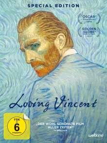 Loving Vincent (Special Edition im Digipak), DVD
