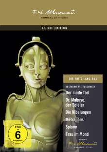 Die Fritz Lang Box (Deluxe Edition), 9 DVDs