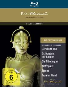 Die Fritz Lang Box (Deluxe Edition) (Blu-ray), 7 Blu-ray Discs