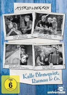 Astrid Lindgren - Kalle Blomquist & Rasmus, 2 DVDs