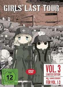 Girls' Last Tour Vol. 3, DVD