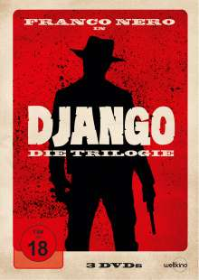 Django - Die Trilogie, 3 DVDs