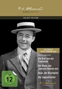 Die grosse Heinz Rühmann Box, 4 DVDs