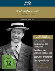 Die grosse Heinz Rühmann Box (Blu-ray), 4 Blu-ray Discs
