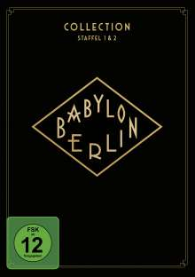 Babylon Berlin Collection Staffel 1 & 2, 4 DVDs