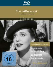 Zarah Leander Collection (Blu-ray), 3 Blu-ray Discs
