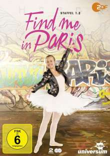 Find me in Paris Staffel 1 Vol. 2, 2 DVDs