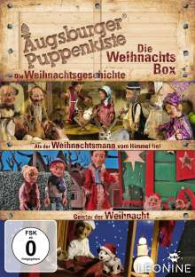 Augsburger Puppenkiste - Die Weihnachts-Box, 3 DVDs