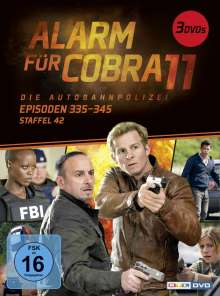 Alarm für Cobra 11 Staffel 42, 3 DVDs