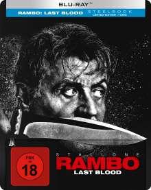 Rambo - Last Blood (Blu-ray im Steelbook), Blu-ray Disc