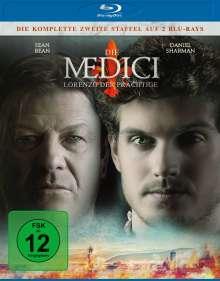 Die Medici Staffel 2 - Lorenzo der Prächtige (Blu-ray), 2 Blu-ray Discs