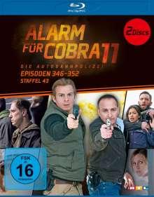 Alarm für Cobra 11 Staffel 43 (Blu-ray), 2 Blu-ray Discs