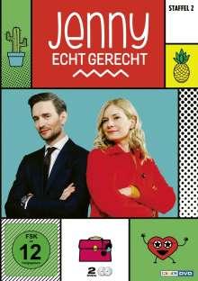 Jenny - Echt gerecht Staffel 2, 2 DVDs