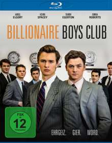 Billionaire Boys Club (Blu-ray), Blu-ray Disc