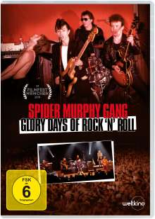 Spider Murphy Gang - Glory Days of Rock 'n' Roll, DVD