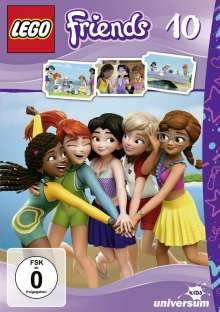 LEGO - Friends 10, DVD